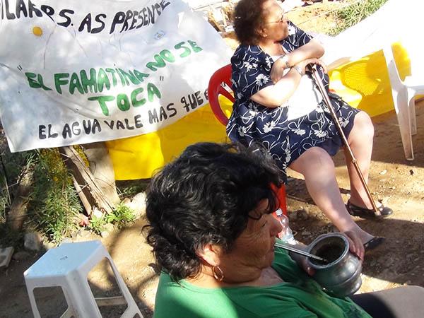 Mujeres defensoras del agua de las montañas en Argentina